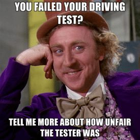 what if you fail driving test