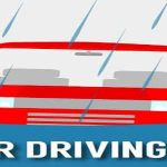tips for driving in the rain banner