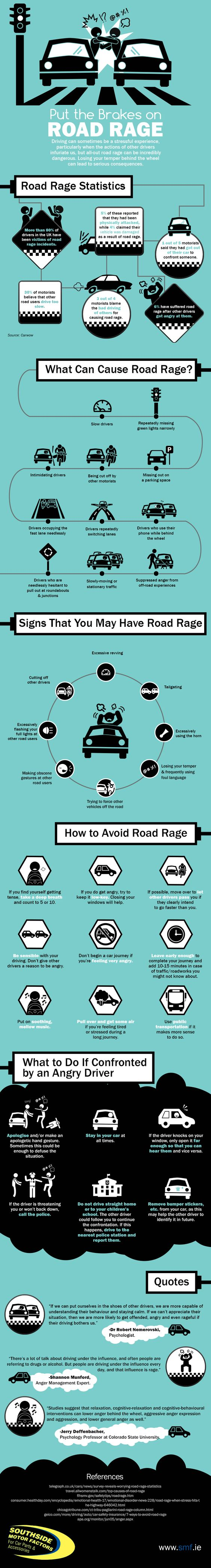 how to avoid road rage