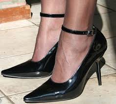 high heel driving shoes