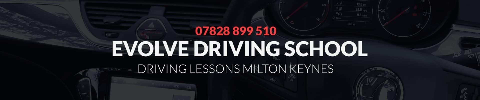 driving lessons milton keynes banner