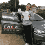 Hannah Williams first time pass