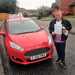Kris Wallace first time test pass
