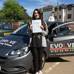rosie clare test pass