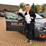 harrison first time test pass