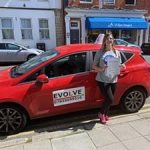 jade wallace first time test pass