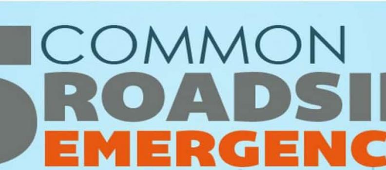 5 Common roadside emergencies