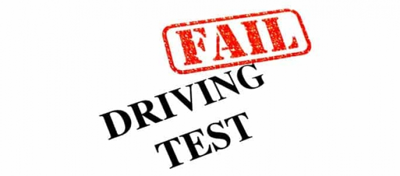 Top 10 reasons we fail the driving test.
